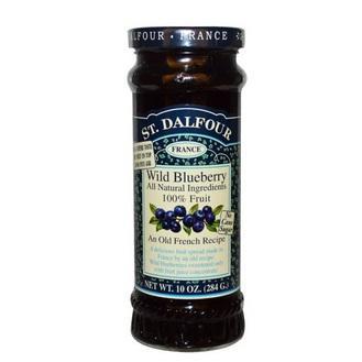 进口果酱之蓝莓果酱(好吃不贵的果酱调料、纯天然健康果酱)