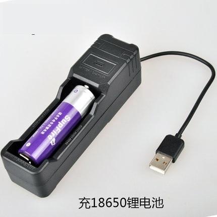 便宜好用的18650锂电池、强光手电电池充电器
