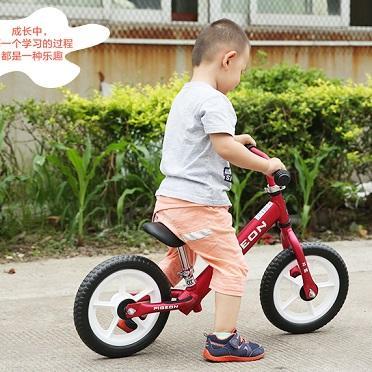 儿童自学骑车之:好玩又实用的儿童平衡车(滑步车)
